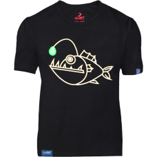 "ФУТБОЛКА KLOST "" ANGLER FISH (ГЛИБОКОВОДНИЙ РИБАЛКА) "" BLACK"