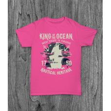 ФУТБОЛКА З ПРИНТОМ KING OF THE OCEAN