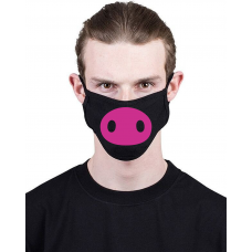 МАСКА З ПРИНТОМ PIG