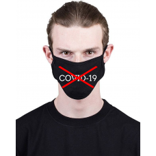 МАСКА З ПРИНТОМ COVID19