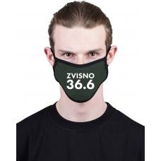 """МАСКА З ПРИНТОМ """"ZVISNO 36.6"""""""