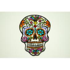 Нашивка Кольоровий череп
